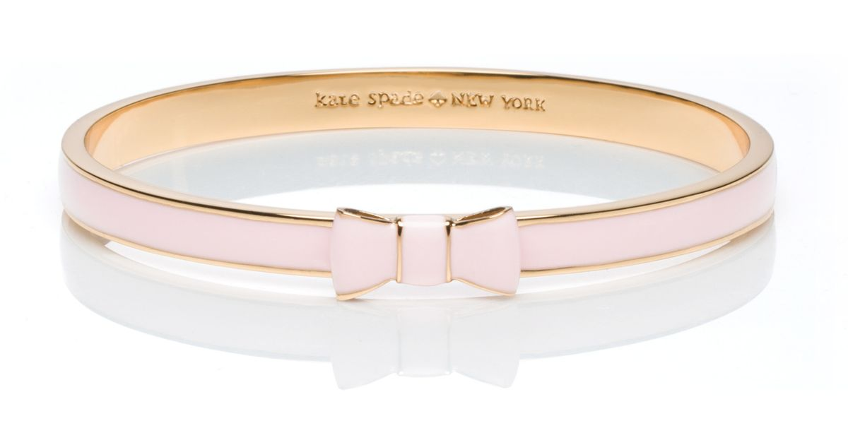 Kate Spade New York Pink Take A Bow Bangle