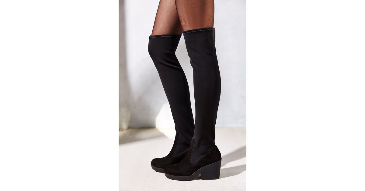 CAMPER Block Heeled Over The Knee Boot - TOMMY