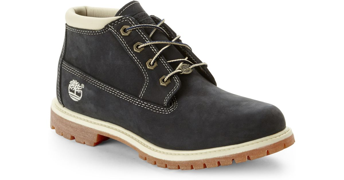 Cool Timberland Mens/Womens 6-Inch Premium Waterproof Boots Gray/Navy Blue - U20ac90.68  Dxsneaker