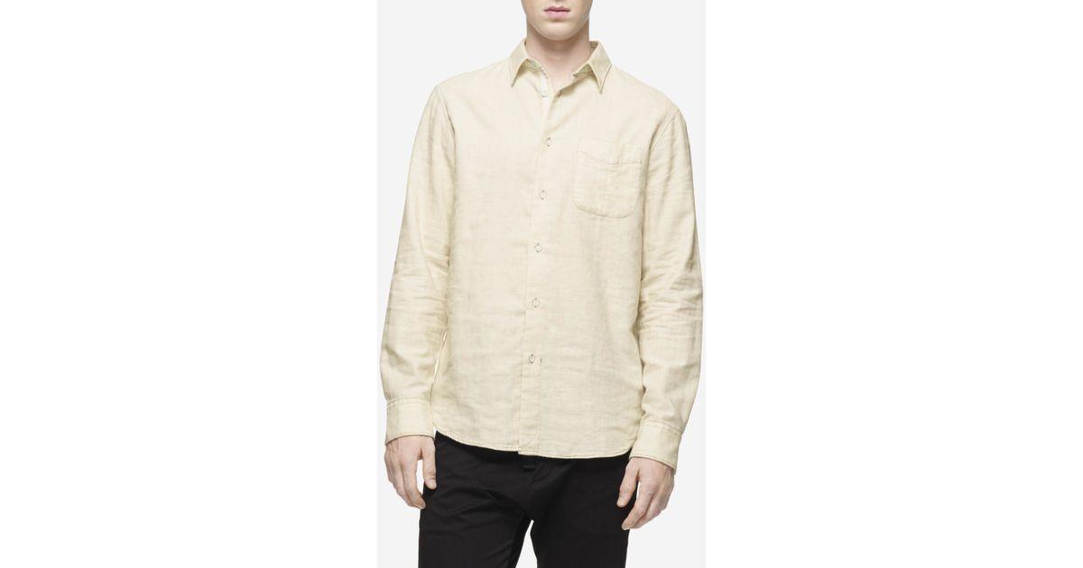 Rag Bone Beach Shirt In White For Men Ivory White Lyst