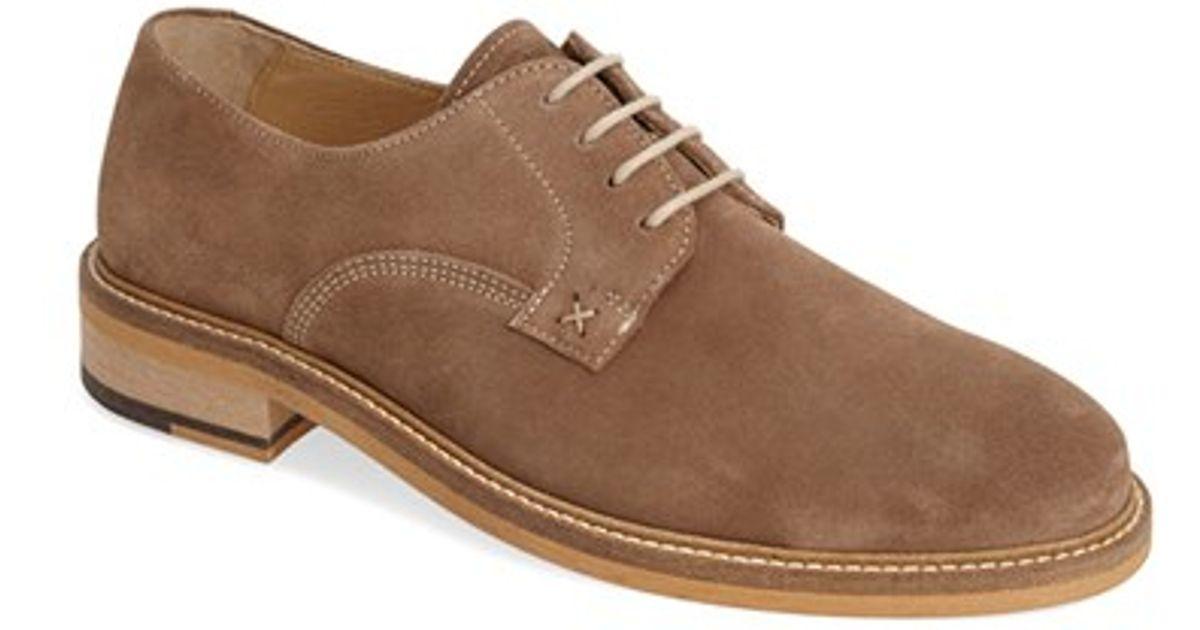 e18345e90f6 Wolverine - Brown 'henrik' Suede Buck Shoe for Men - Lyst