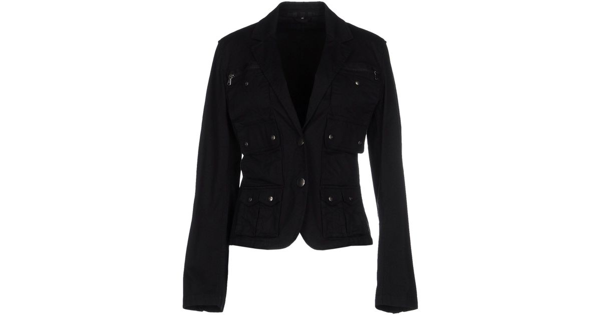 cheap for discount ded96 edc74 Fay - Black Blazer - Lyst