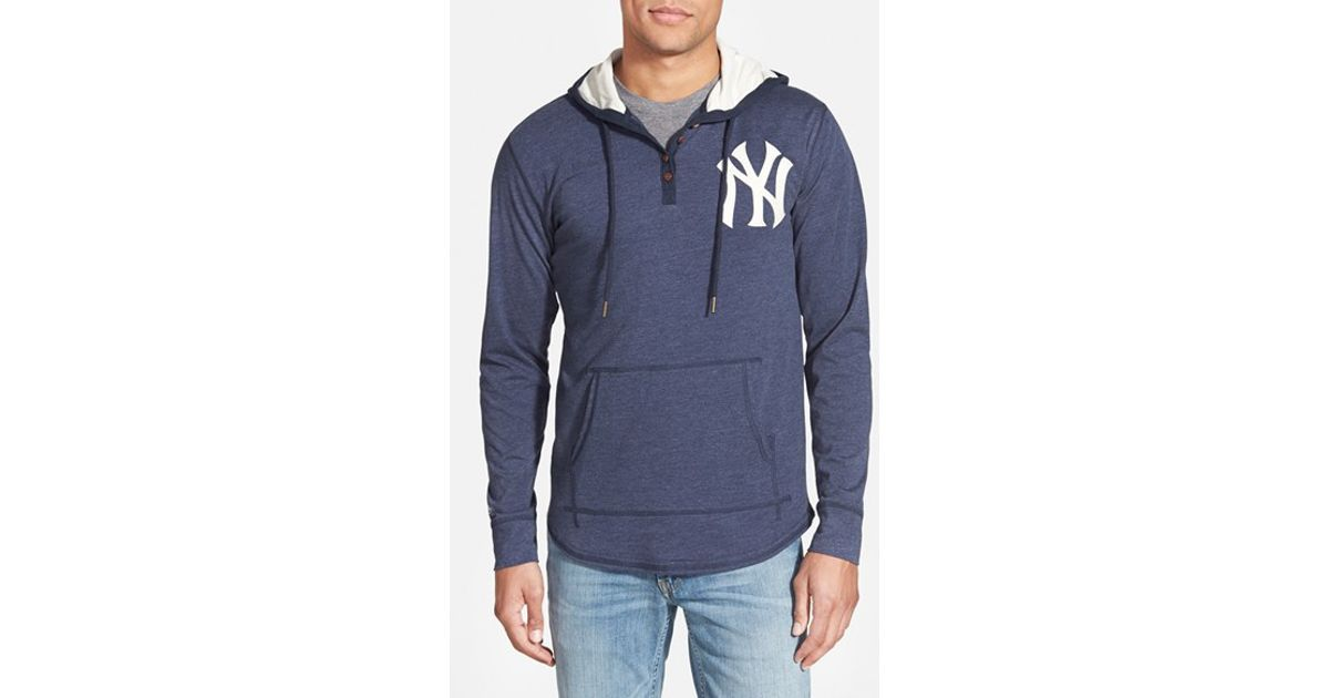 Lyst - Mitchell   Ness  new York Yankees - Playoff Spot  Hoodie in Blue for  Men 8b65cf02373