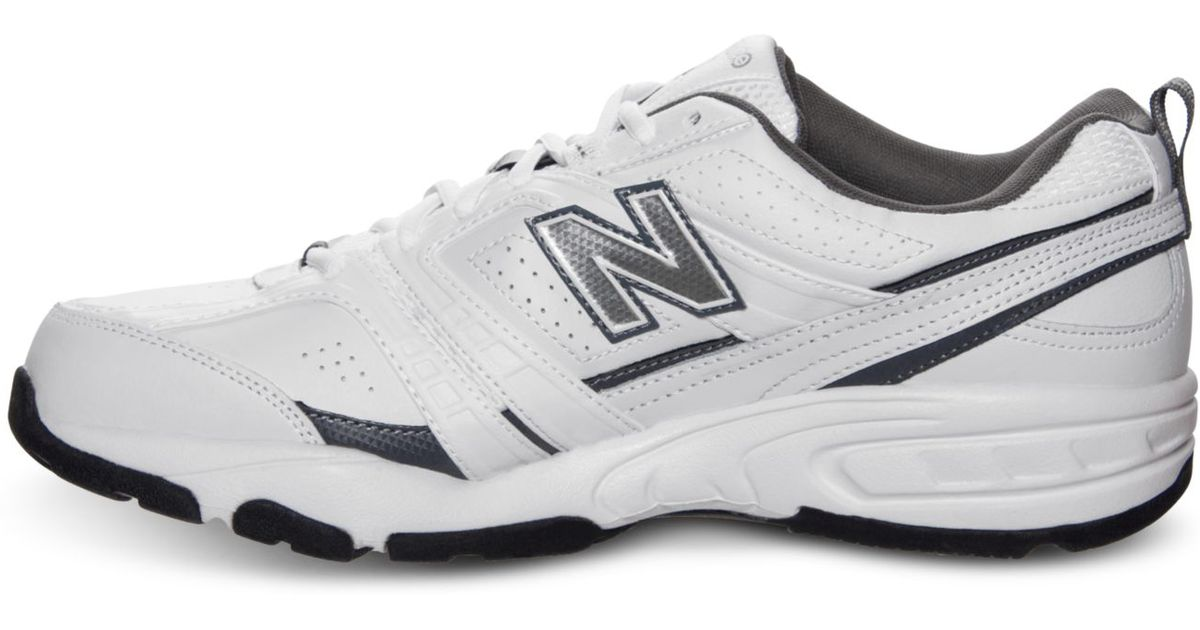 df346f1b68 New Balance White Men'S Mx 409 Wide Cross Training Sneakers From Finish  Line for men