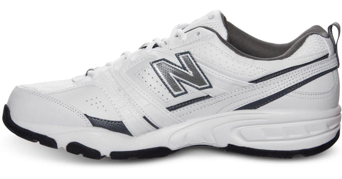 57d99fe0 New Balance White Men'S Mx 409 Wide Cross Training Sneakers From Finish  Line for men