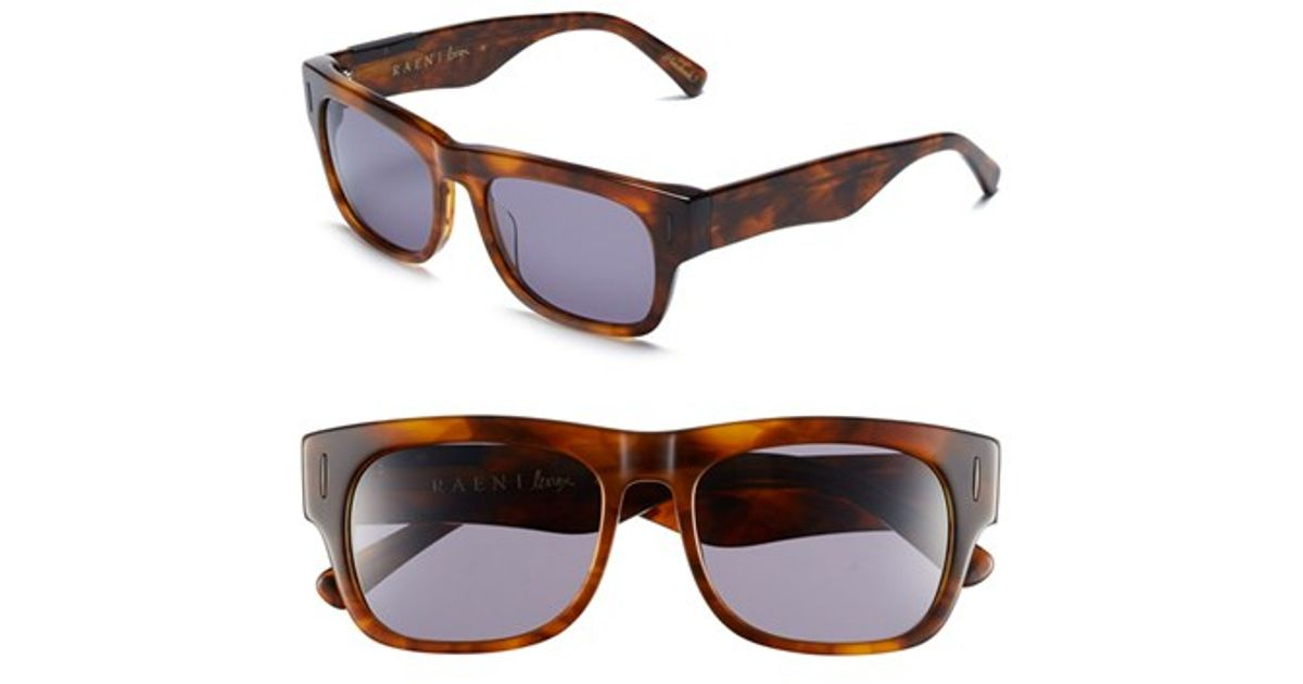 6c375512546 Lyst - Raen  lenox  54mm Sunglasses - Rootbeer  Smoke in Red for Men