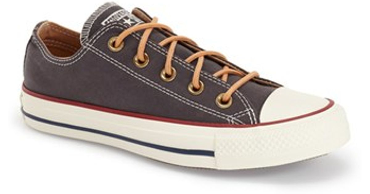 09a9b12c83350 Converse Black Chuck Taylor All Star 'peached - Ox' Low Top Sneaker
