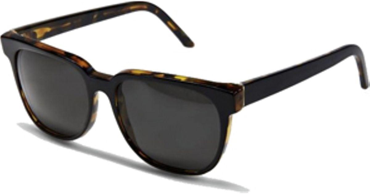 Retrosuperfuture Super Sunglasses People Dark Havana Black ...
