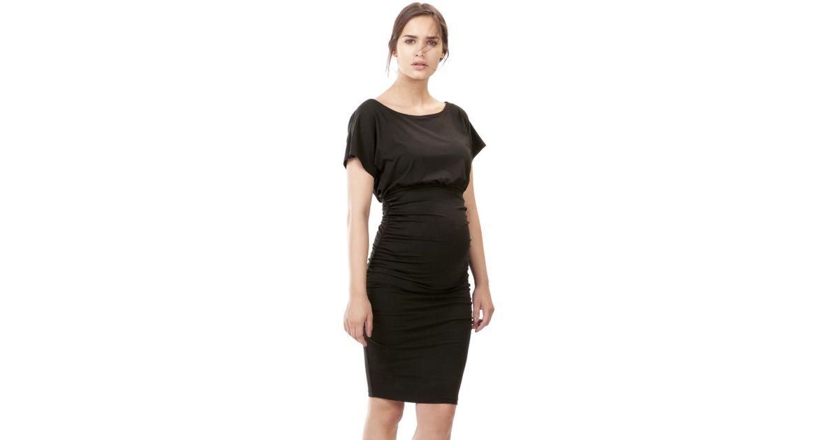 9d40f164844 Isabella Oliver Eliot Maternity Dress in Black - Lyst