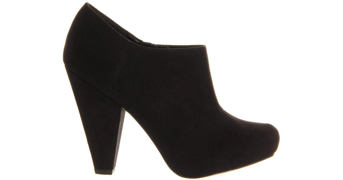 office shooby shoe boot in black lyst