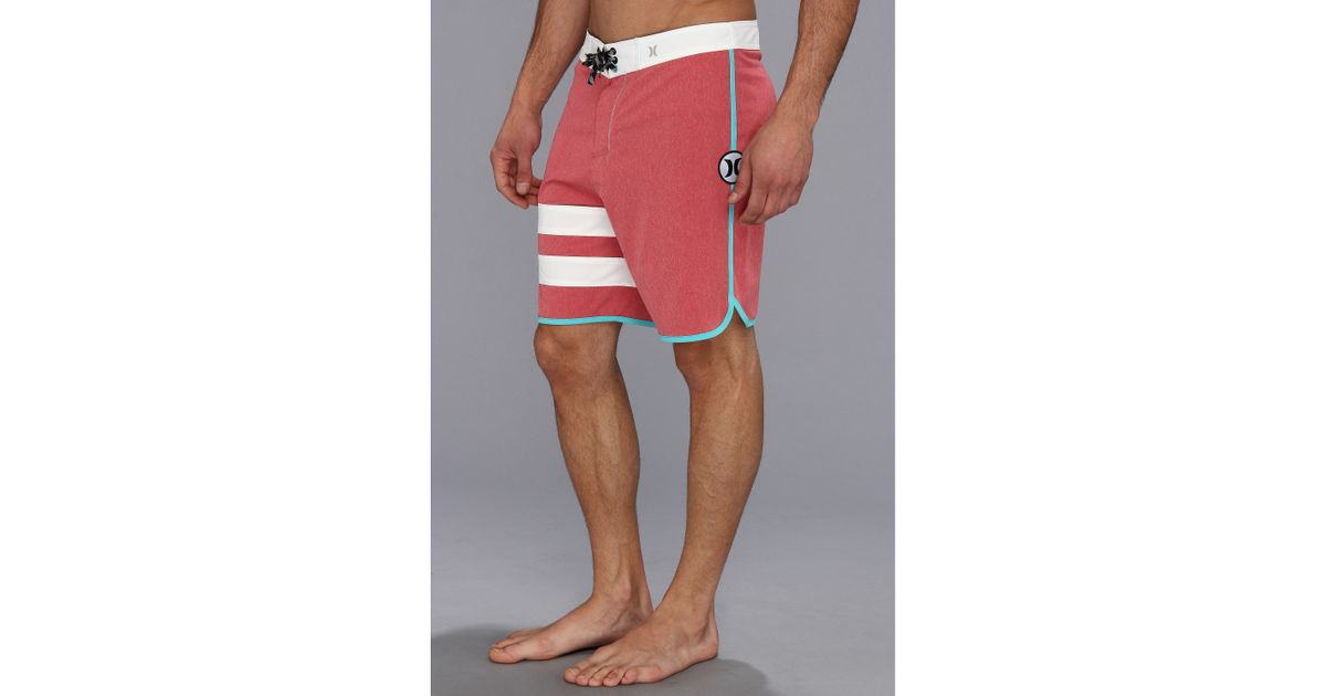 2955d37da3 Hurley Phantom Block Party Heather Boardshort 19 in Red for Men - Lyst
