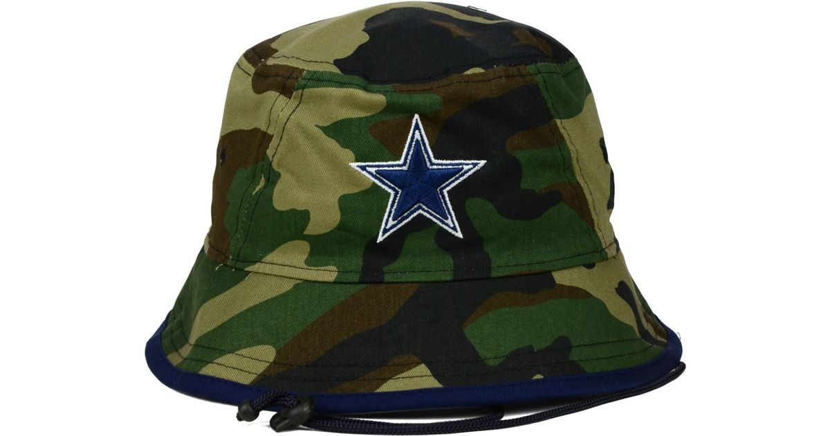 7ffd503ce38 ... sweden lyst ktz dallas cowboys camo pop bucket hat in natural for men  f3b32 b9186 ...