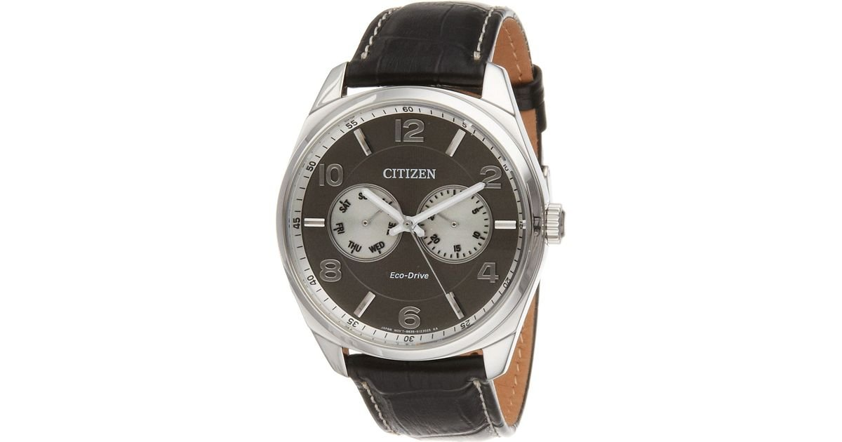 lyst citizen ao9020 17h men s dress in metallic for men