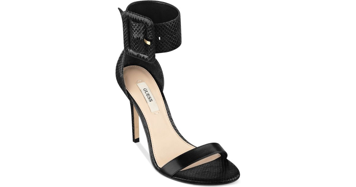 Black Two Guess Sandals Piece Odeum QdWBCrxeo