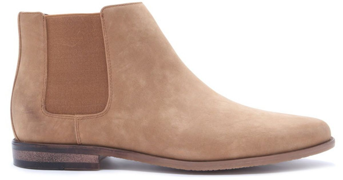 14cddbf79f6 Forever 21 Brown Men Faux Suede Chelsea Boots for men