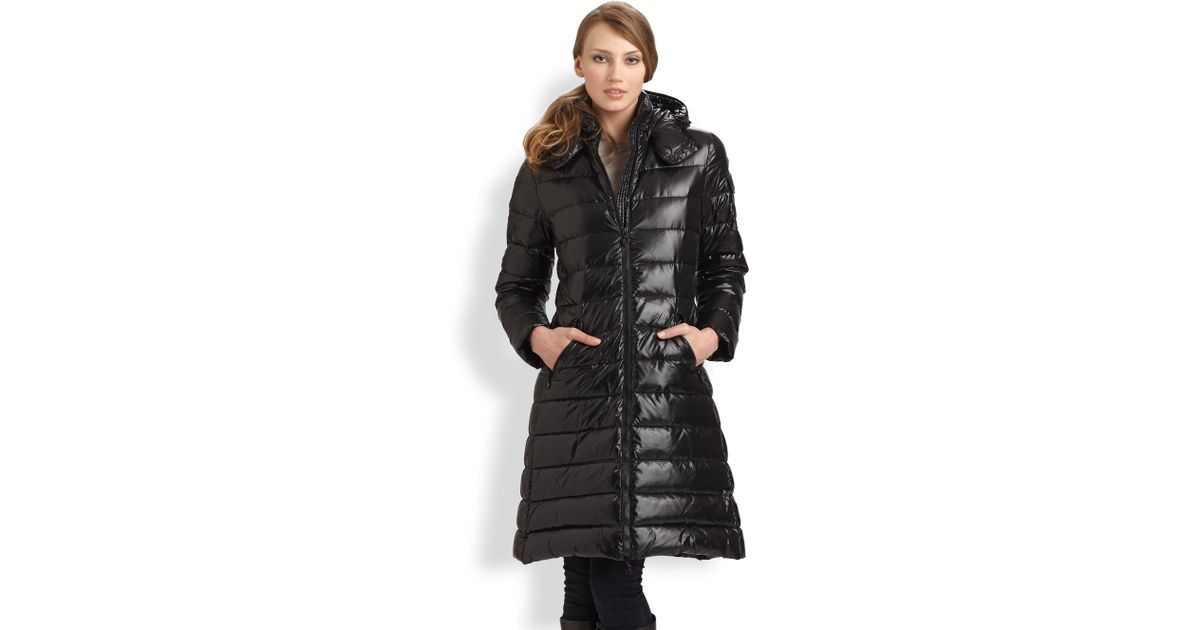 a834108df Moncler Black Moka Puffer Jacket