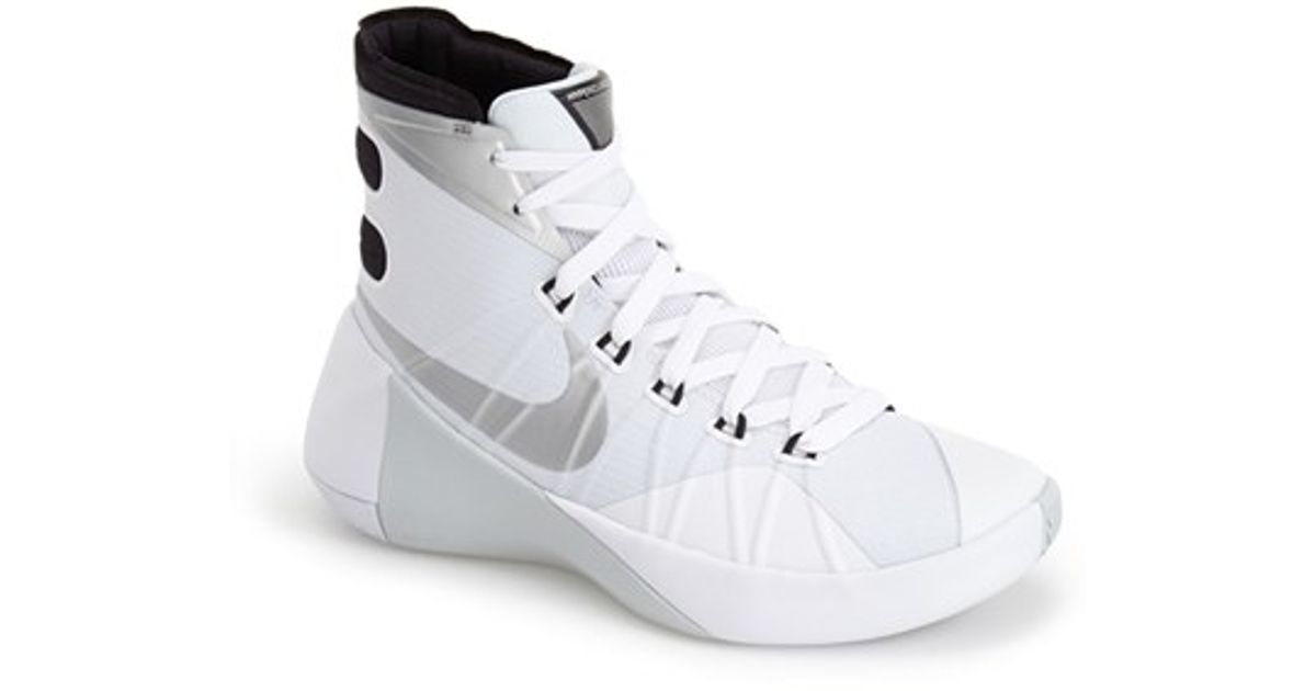 0dc833308cd3 Lyst - Nike  Hyperdunk 2015  Basketball Shoe in White