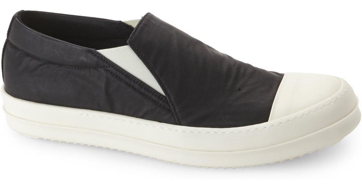 Rick Owens & Off- Boat Slip-On Sneakers