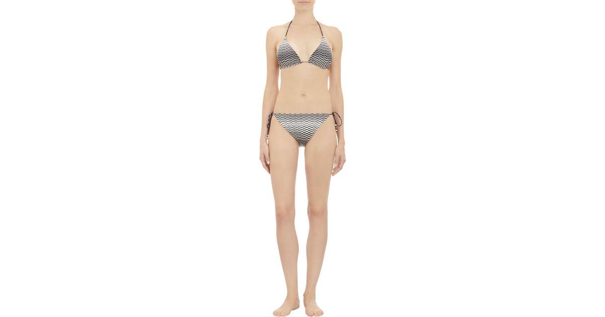 b3c8c355a89c5 Lyst - Missoni Reversible Bikini Set in Black
