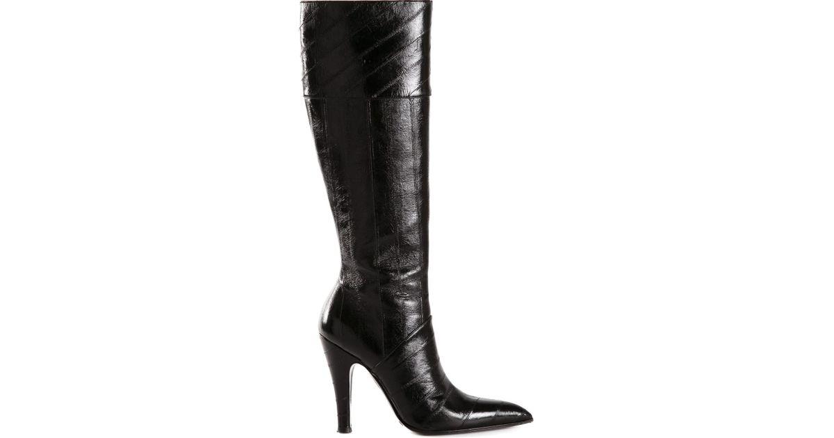 Dolce \u0026 Gabbana Knee High Boots in