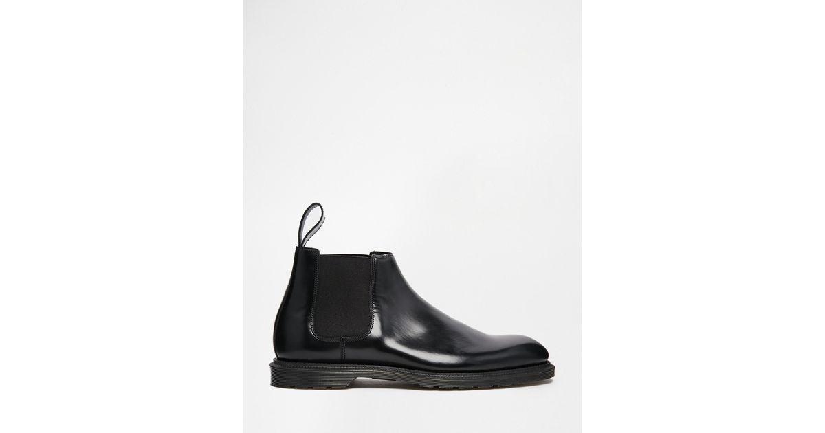 e43371db84e Dr. Martens Black Henley Chelsea Boots for men