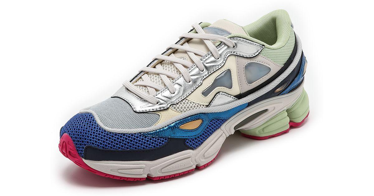 buy popular 13a0c 67c63 Adidas By Raf Simons Blue Ozweego 2 for men