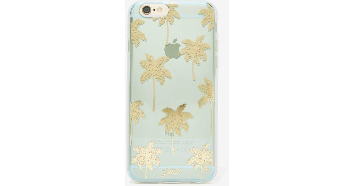 online retailer c91d2 055d8 Nasty Gal Green Sonix Iphone 6 Case - Palm Trees