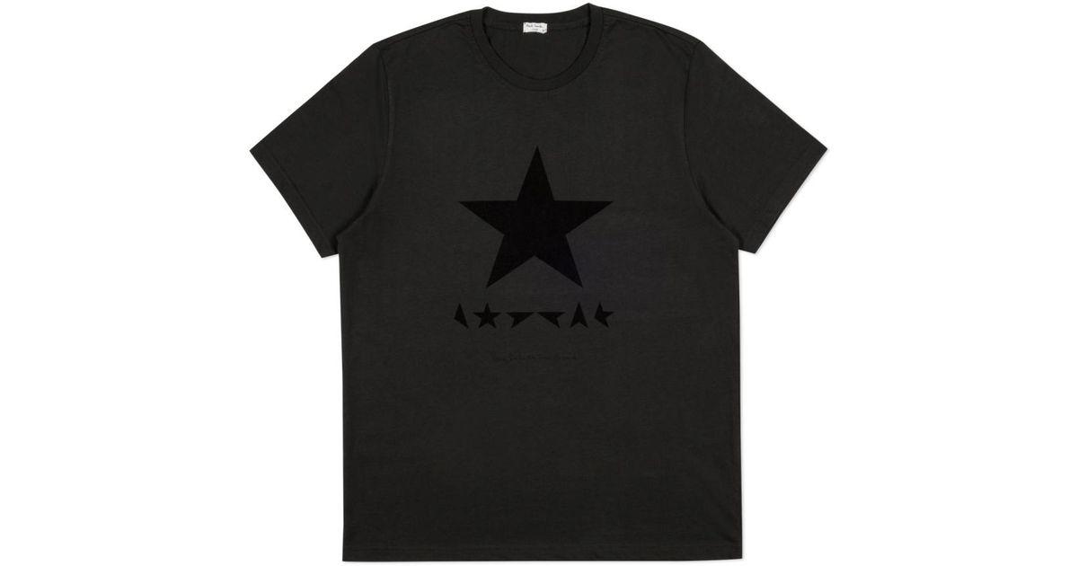 DAVID BOWIE Black Star Top Tank Sleeveles T-Shirt Womens Fitted Summer Blackstar