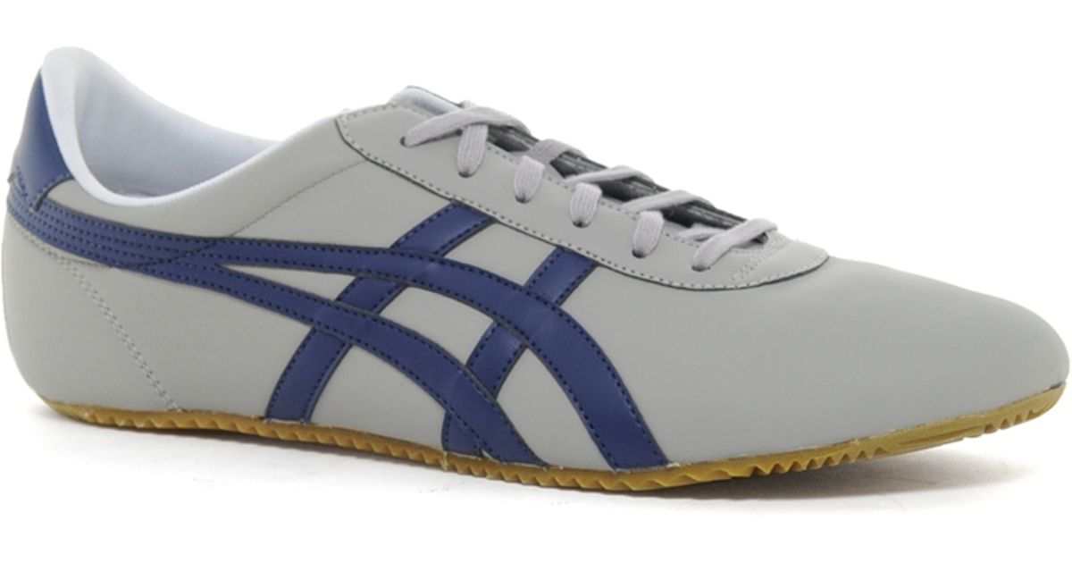 best website f15b1 5cae8 Onitsuka Tiger Gray Tai Chi Leather Plimsolls for men