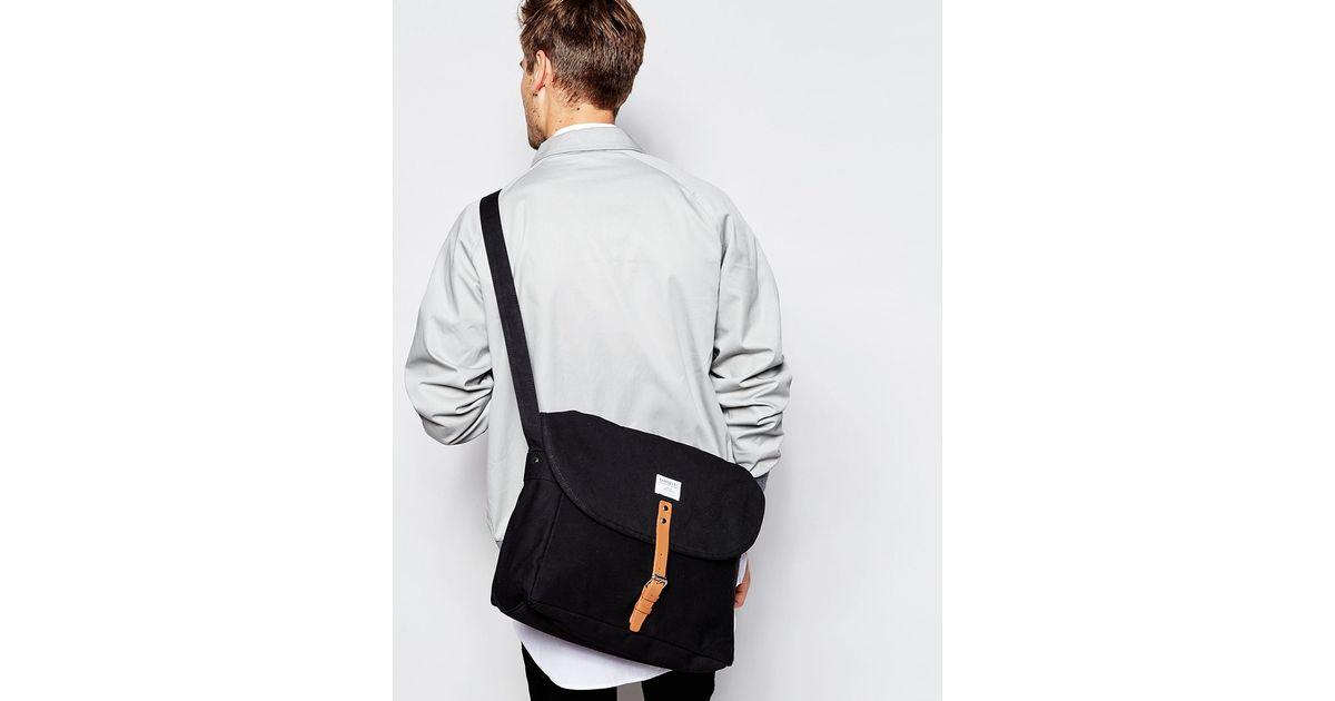 8a1d12b70cd Sandqvist Ground Jack Messenger Bag in Black for Men   Lyst