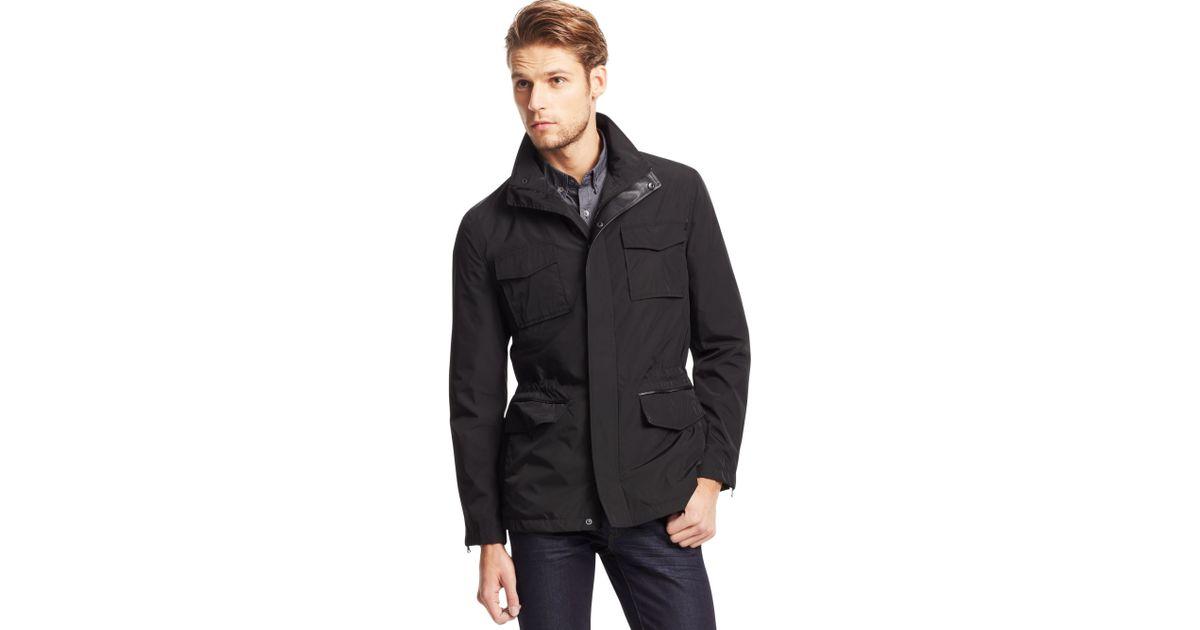 Kenneth Cole New York Mens Hooded Parka Jacket