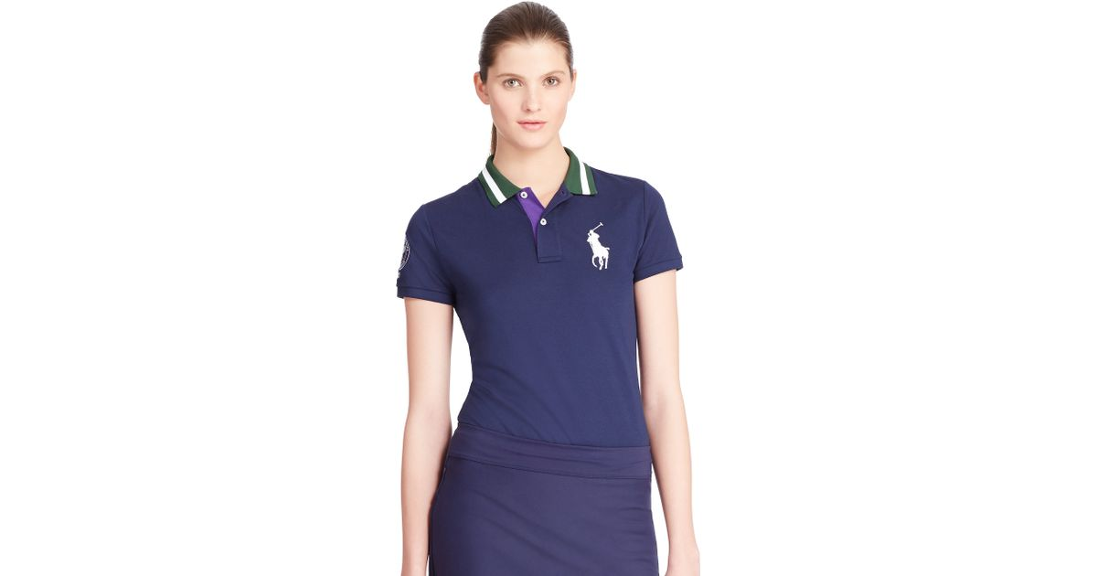 Polo Ralph Lauren Girl/'s Polo Shirt Dress Pony Logo Navy Cream Paisley Pony Logo