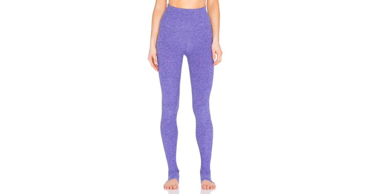 491ed2cd9c16e Beyond Yoga Spacedye High Waist Stirrup Legging in Purple - Lyst