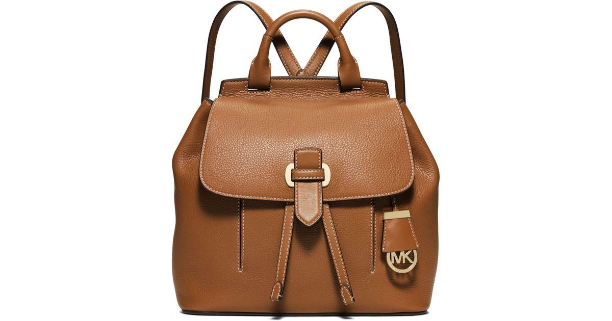 3e83d1068f9e22 italy michael kors viv leather backpack f3e80 d2f38