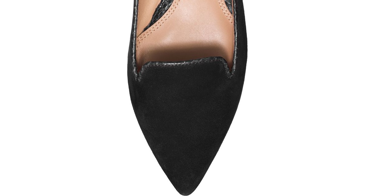 e6855871749 Lyst - Tory Burch Connely Smoking Slipper in Black