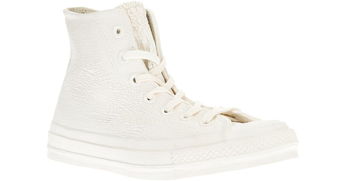 4779dc88c29742 Lyst - Converse Chuck Taylor All Star High-Top Sneakers in White for Men