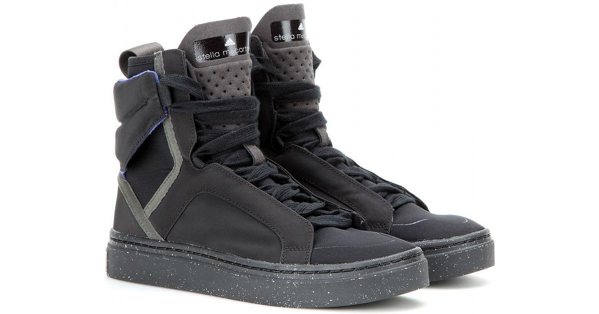 Adidas By Stella McCartney Gray Asimina High top Sneakers