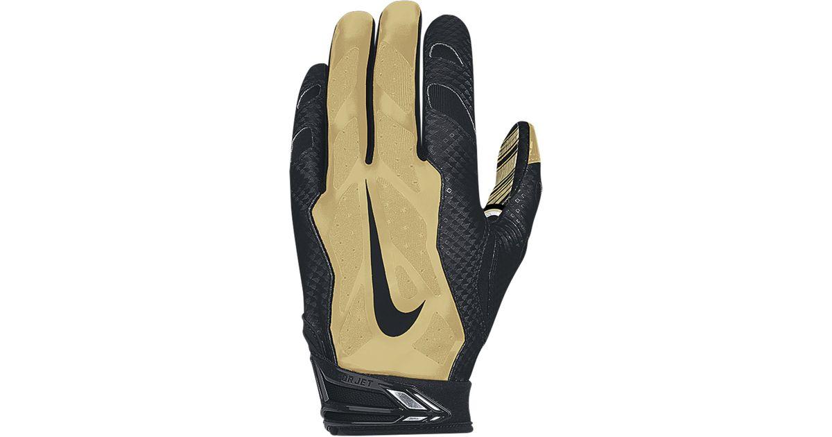 watch 7e88b 81eba Nike Yellow New Orleans Saints 3.0 Vapor Jet Gloves for men