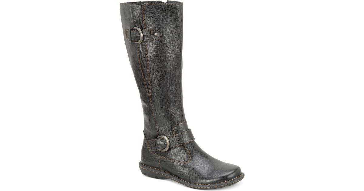 b 248 c leather wide calf boots only at macy s in