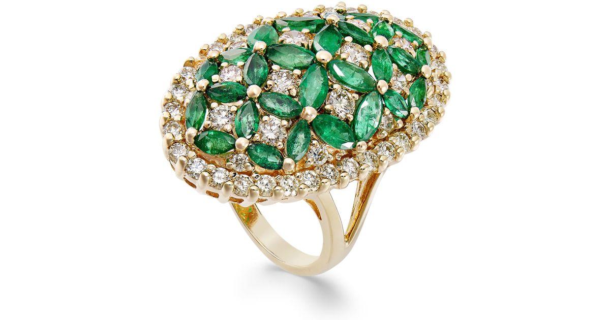macy s emerald 3 1 5 ct t w and 1 3 4 ct t w
