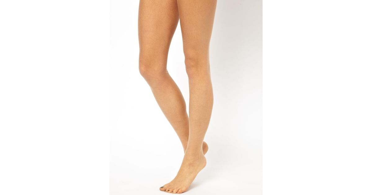 194ec5178 Wolford Naked 8 Tights in Natural - Lyst
