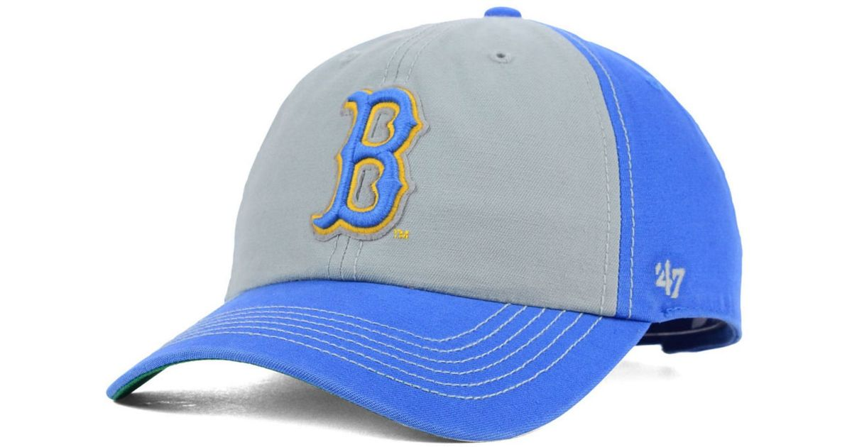 6a6504b427f69 ... hot lyst 47 brand ucla bruins mcgraw champions cap in gray for men  e86d8 6262a