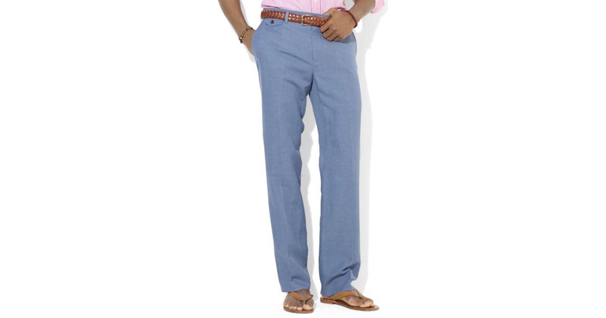 Mens Classic-Fit Briton Twill Pants