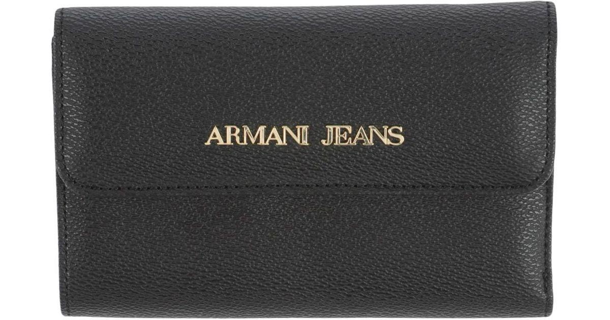 80dc5049 Armani Jeans Black Wallet