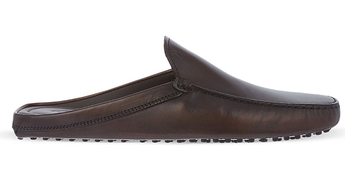 Tods Womens Driving Shoes On Sale