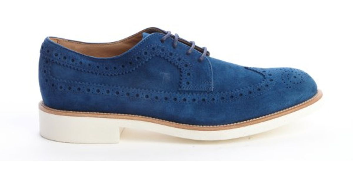 Suede oxford shoes Tod's IFGsU
