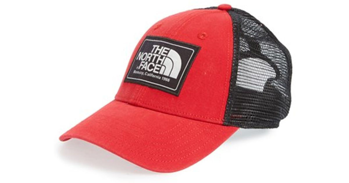 Lyst - The North Face  mudder  Trucker Hat in Blue for Men 888026b775b0