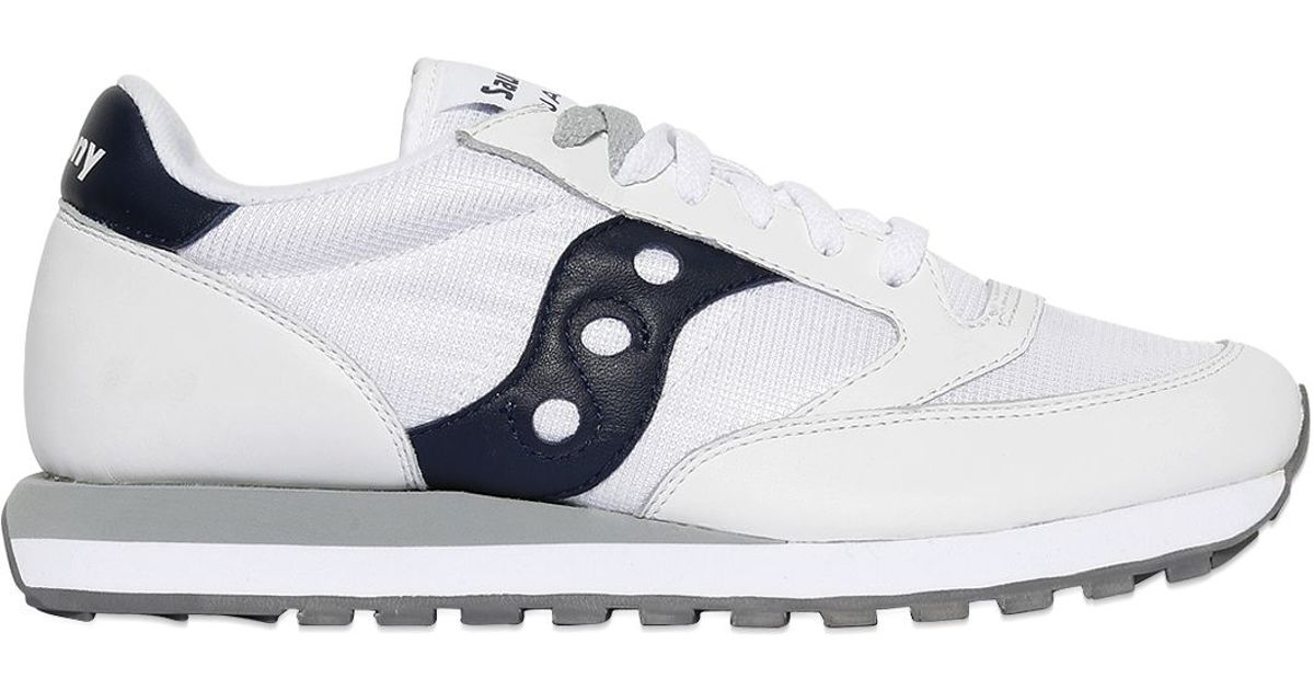 b62f752373 Saucony White Limit.ed Jazz Suede & Nylon Sneakers for men