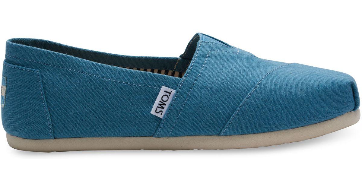 Toms Shoes Aegean Blue