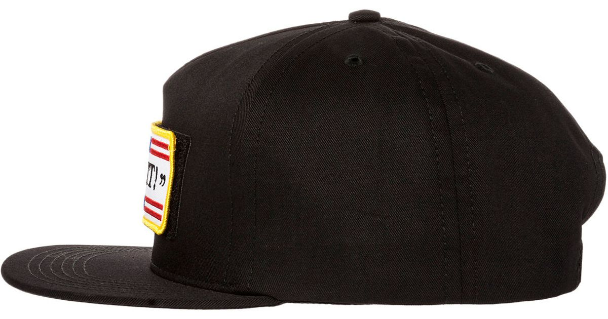 Lyst - Huf The Fuck It Tactical Snapback Hat in Black for Men 7990963e704